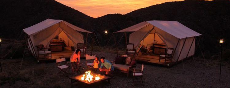 Desert Mountain rolls out overnight luxury c&ing. Photo credit Desert Mountain & Desert Mountain introduces wilderness experience: luxury overnight ...