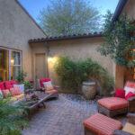 Tranquil inner courtyard