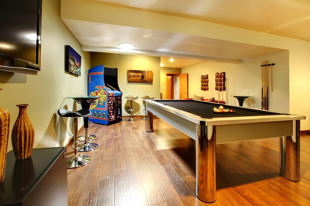 Luxury Home Amenities List - Game Room