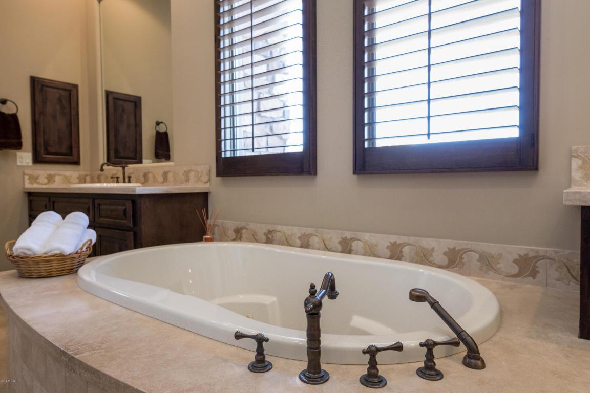 Luxury Bathroom Upgrades - 12163 East Casitas del Rio Drive in Scottsdale