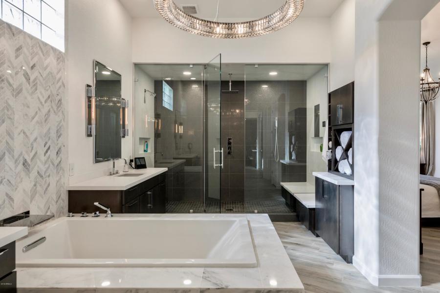 Luxury Bathroom Upgrades - 9290 East Thompson Peak Parkway